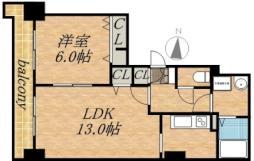 ティアラタワー中島倶楽部(I−IV) 807